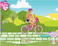 Barbie bike game BMX biciklis j�t�kok ingyen