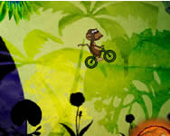 Mad monkey mike BMX biciklis j�t�kok