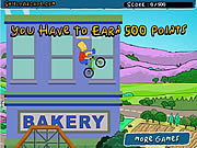 The Simpsons BMX game BMX biciklis j�t�kok ingyen